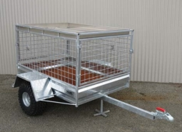 Roof Tray on Trailer