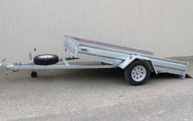 Light commercial trailers brent smith trailers tilt draw bar aloadofball Image collections