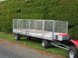 Flat Deck Turntable Trailers