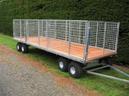 Extra Large Flat Deck Trailers